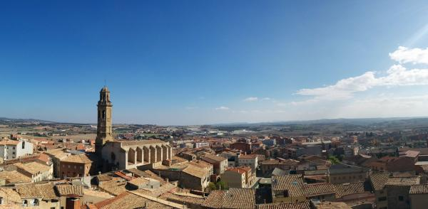 01.11.2015 vista des del castell  Calaf -  Ramon Sunyer