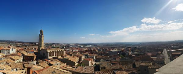 01.11.2015 Panoràmica des del castell  Calaf -  Ramon Sunyer