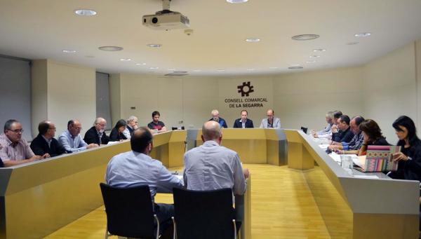 Xavier Casoliva, president del Consell d'Alcaldes de la Segarra