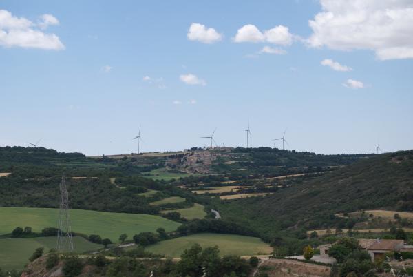 24.05.2015 Vista des de Mirambell  Conill -  Ramon Sunyer