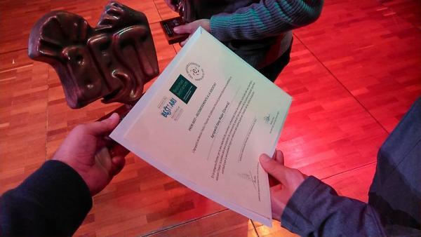 L'Agrupació Seny Major de Cervera premi BEST 2015 en la categoria associació o entitat -