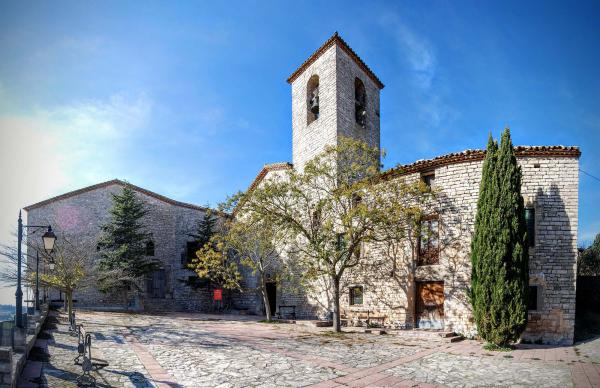 29.11.2015 castell i església  Vergós Guerrejat -  Ramon Sunyer