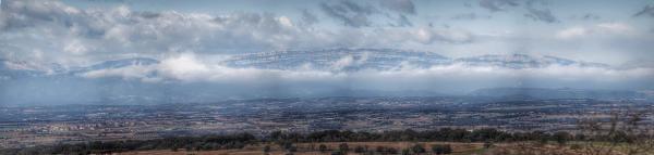 22.11.2015 La serra del Montsec a la tardor  Tarroja de Segarra -  Ramon Sunyer