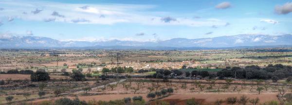 22.11.2015 Paisatge de tardor  Tarroja de Segarra -  Ramon Sunyer