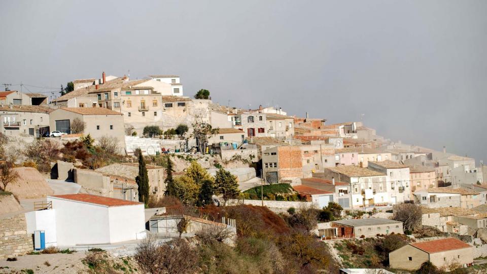 13.12.2015 vista del poble  Talavera -  Ramon Sunyer