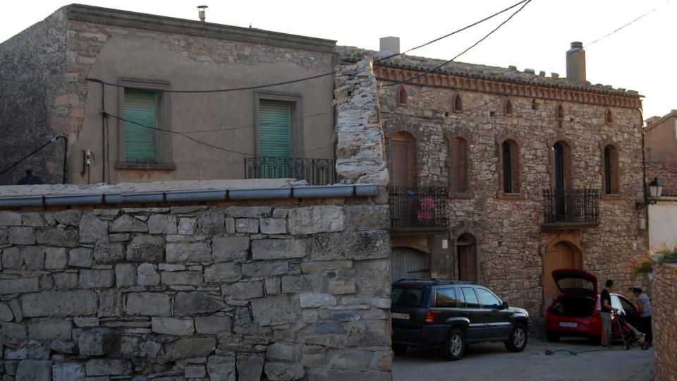 28.08.2015 Detall cases  Montoliu de Segarra -  Ramon Sunyer