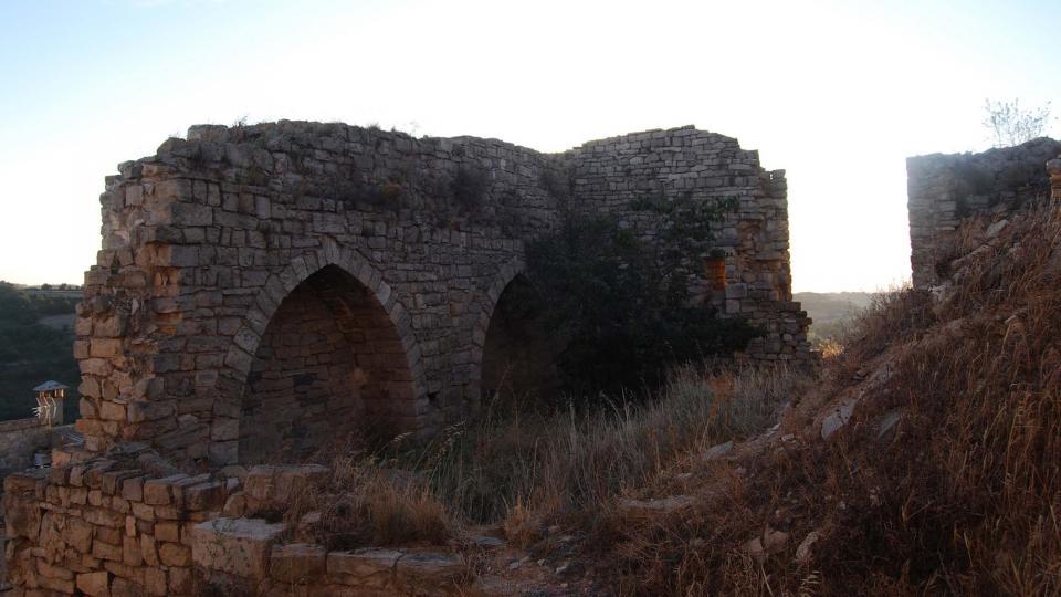 28.08.2015 Castell XIII-XIV  Montoliu de Segarra -  Ramon Sunyer