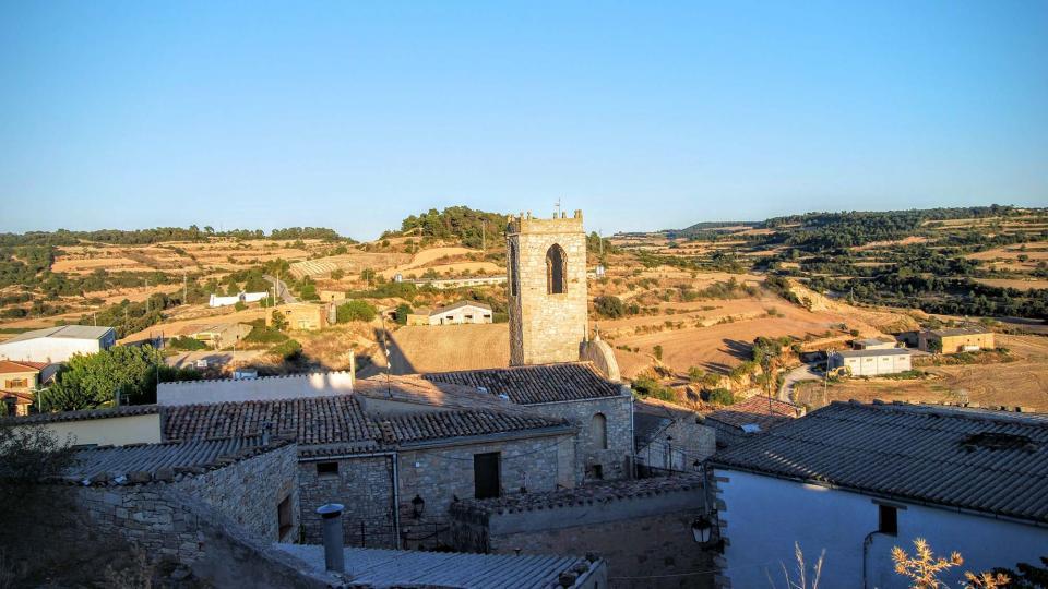 28.08.2015 Vista des del castell  Montoliu de Segarra -  Ramon Sunyer