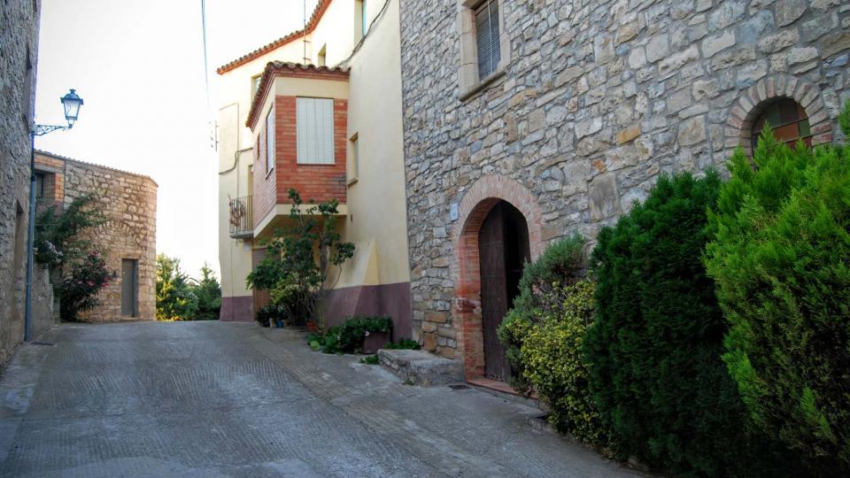 28.08.2015 detall carrer  Montoliu de Segarra -  Ramon Sunyer