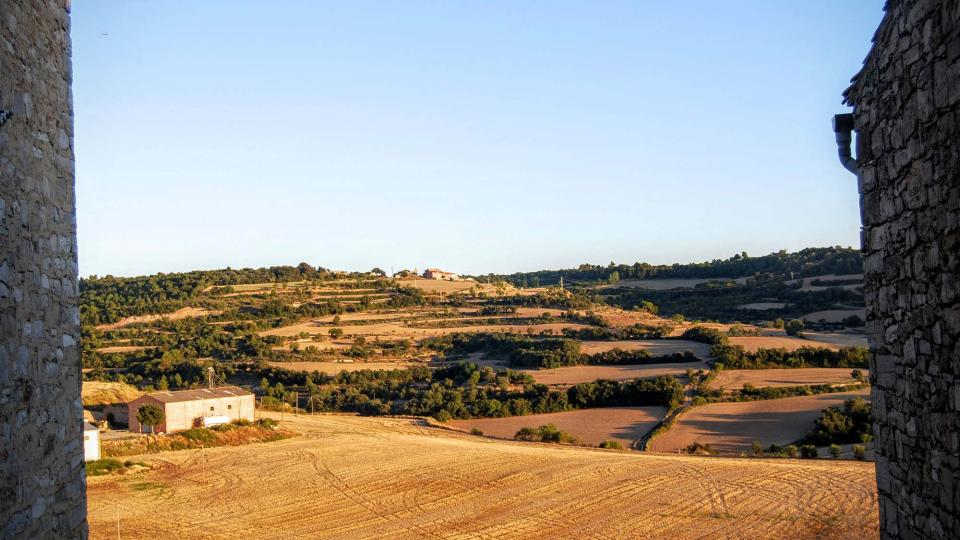28.08.2015 paisatge  Montoliu de Segarra -  Ramon Sunyer