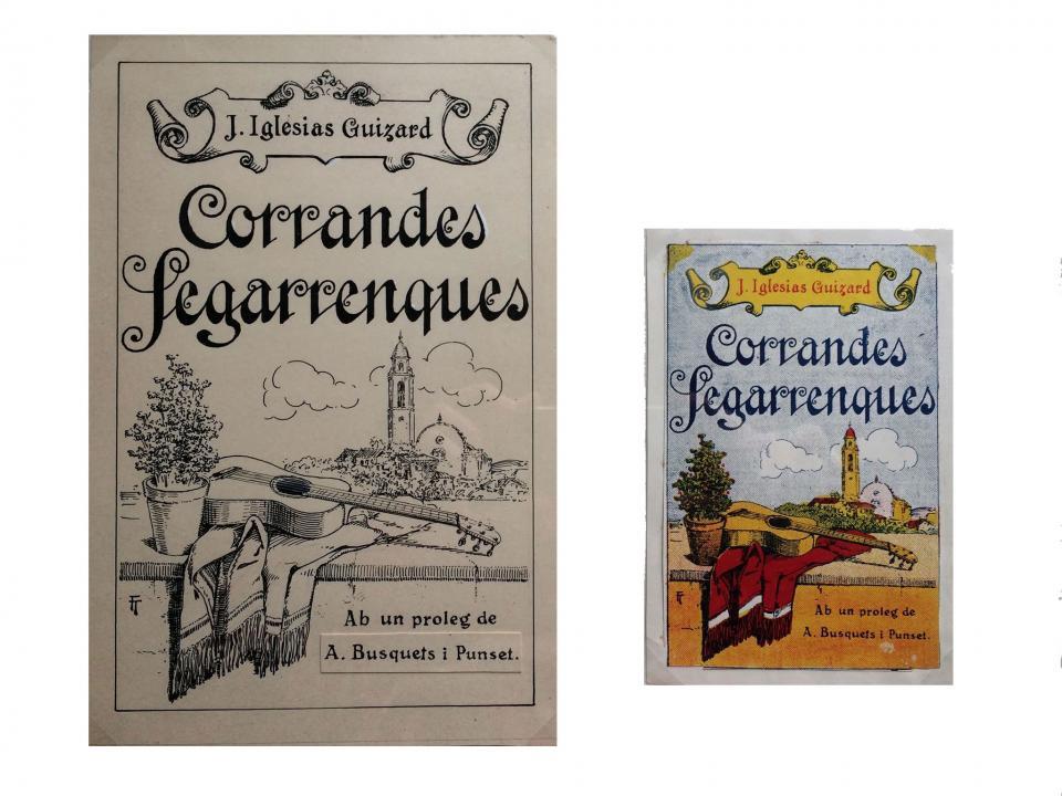 Corrandes Segarrenques (1925) de Josep Iglesias i Guizard -
