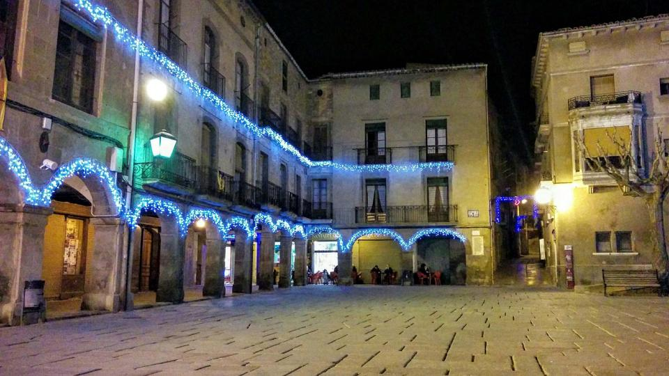 07.12.2015 plaça major  Guissona -  Ramon Sunyer