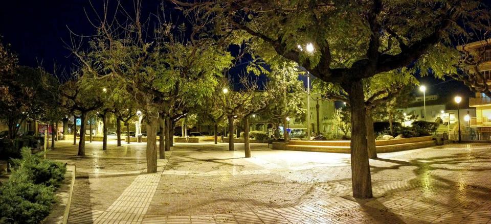 07.12.2015 Plaça Vell pla  Guissona -  Ramon Sunyer