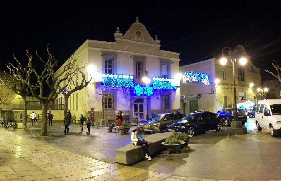 07.12.2015 plaça ajuntament  Guissona -  Ramon Sunyer