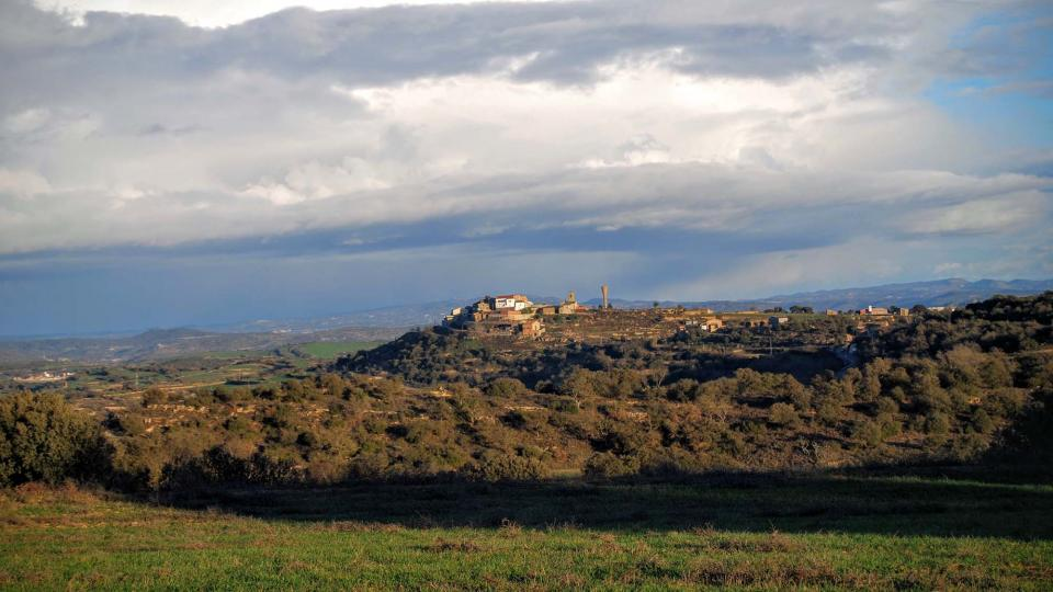 05.01.2016 vista del poble  Palou -  Ramon Sunyer