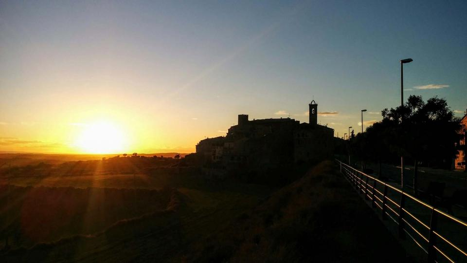 05.01.2016 posta de sol  Florejacs -  Ramon Sunyer