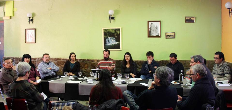 19.01.2016 Assemblea del fòrum l'Espitllera  Sanaüja -  Joan Montagut