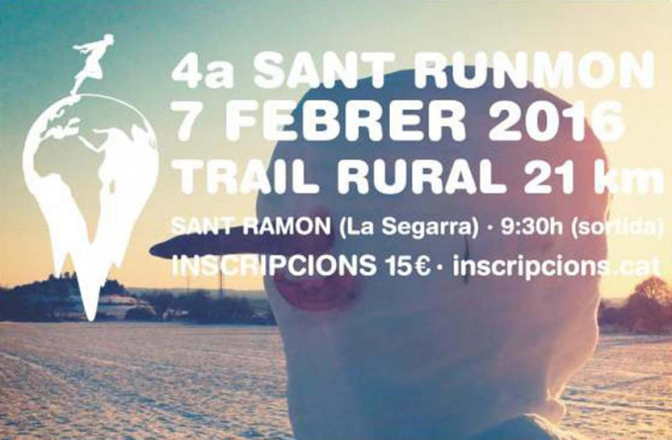cartell 4a Trail Rural SantRunmon