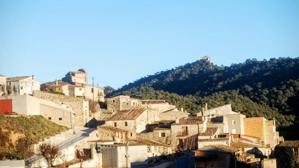 16.01.2016 Vista del poble  Bellprat -  Ramon Sunyer