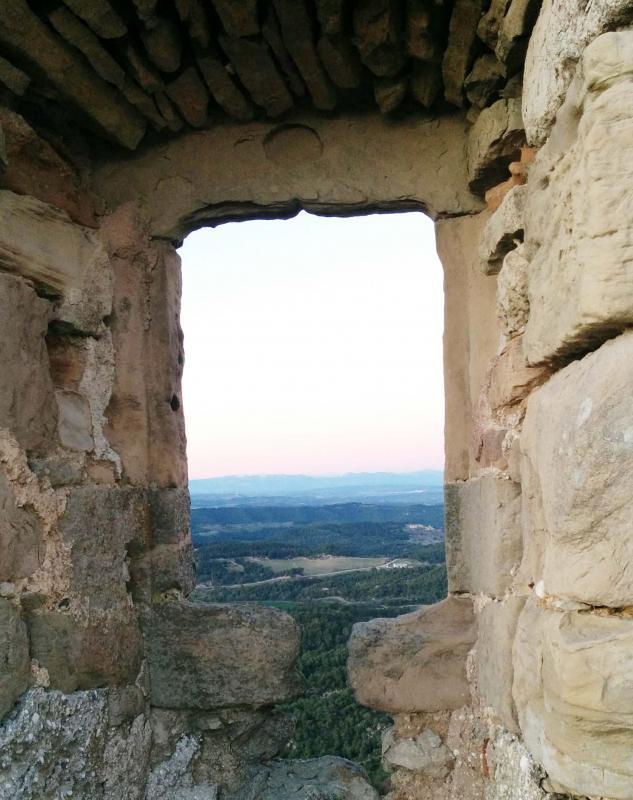 16.01.2016 Castell de Queralt  Bellprat -  Ramon Sunyer