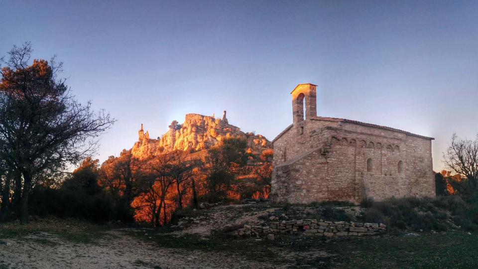 16.01.2016 Castell i Sant Jaume de Queralt  Bellprat -  Ramon Sunyer