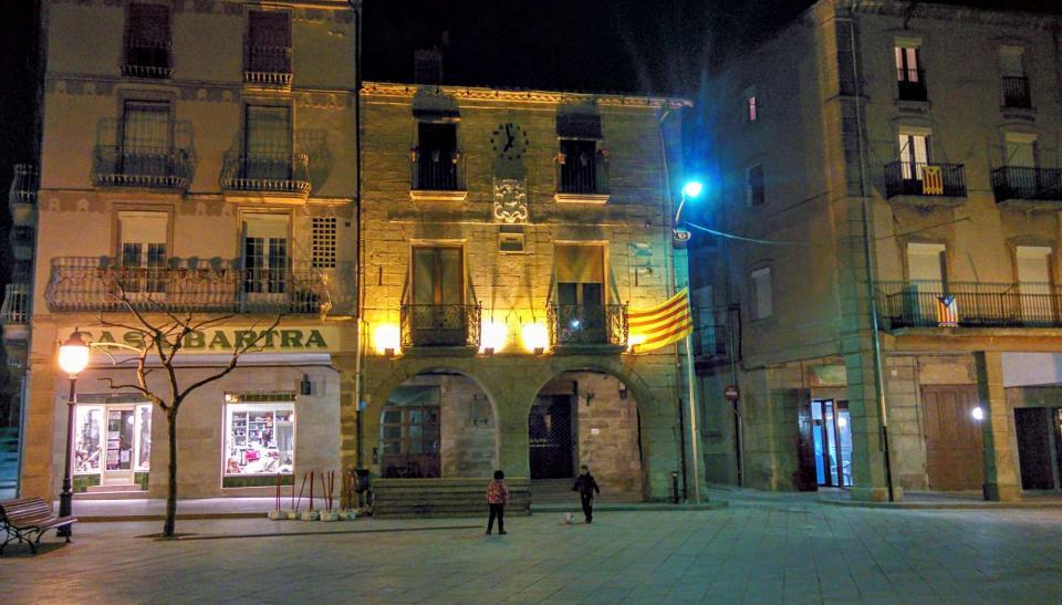 16.01.2016 ajuntament  Santa Coloma de Queralt -  Ramon Sunyer