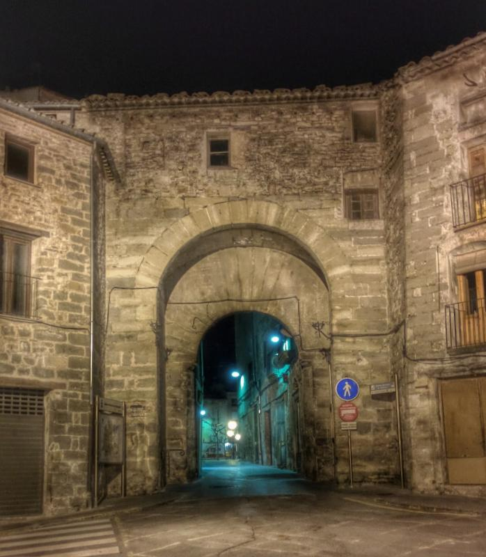 16.01.2016 portal  Santa Coloma de Queralt -  Ramon Sunyer