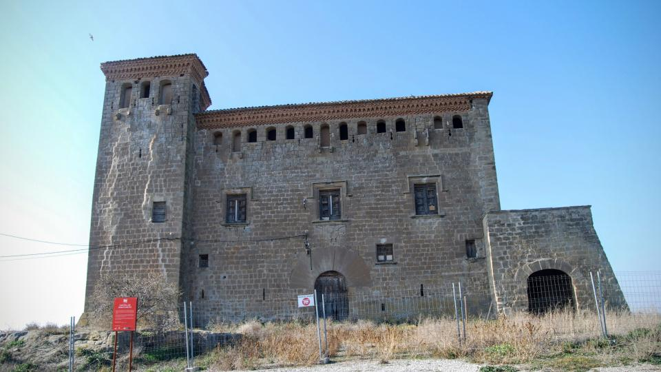 24.01.2016 castell  Montcortès de Segarra -  Ramon Sunyer