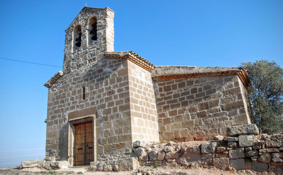 24.01.2016 Església Santa Anna  Montcortès de Segarra -  Ramon Sunyer