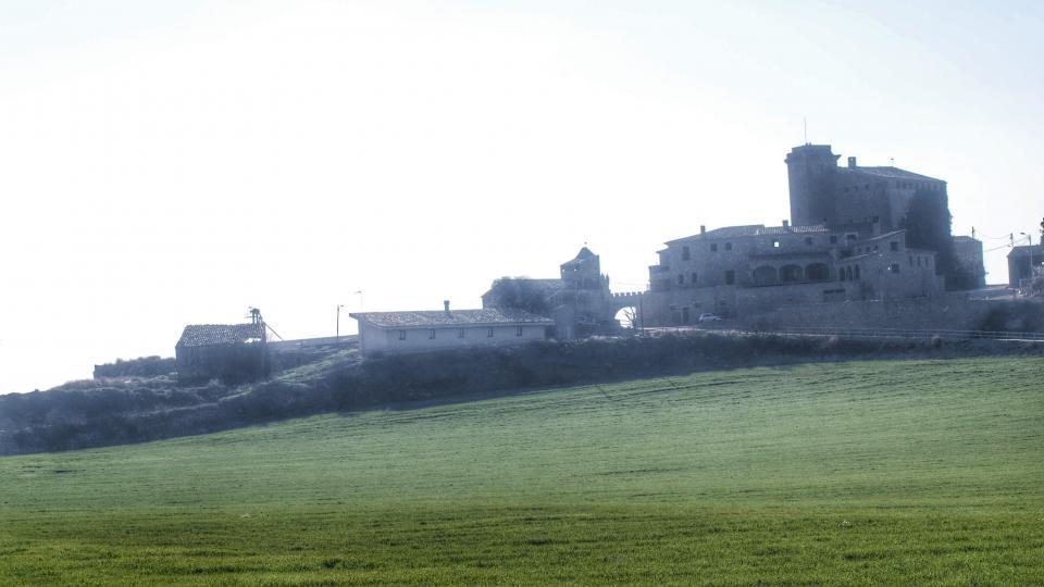 24.01.2016 L'Aranyó des de Montcortès  L'Aranyó -  Ramon Sunyer