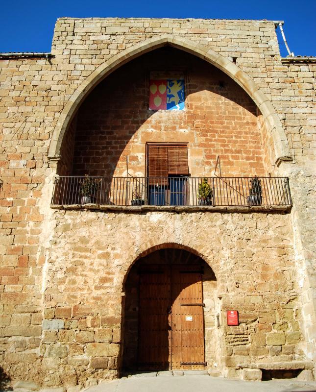 24.01.2016 castell  Les Pallargues -  Ramon Sunyer