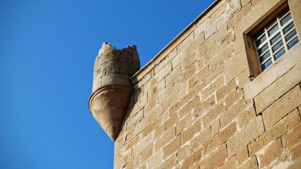 24.01.2016 castell detall  Les Pallargues -  Ramon Sunyer