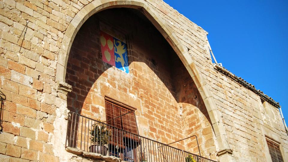 24.01.2016 arc gòtic  del castell  Les Pallargues -  Ramon Sunyer