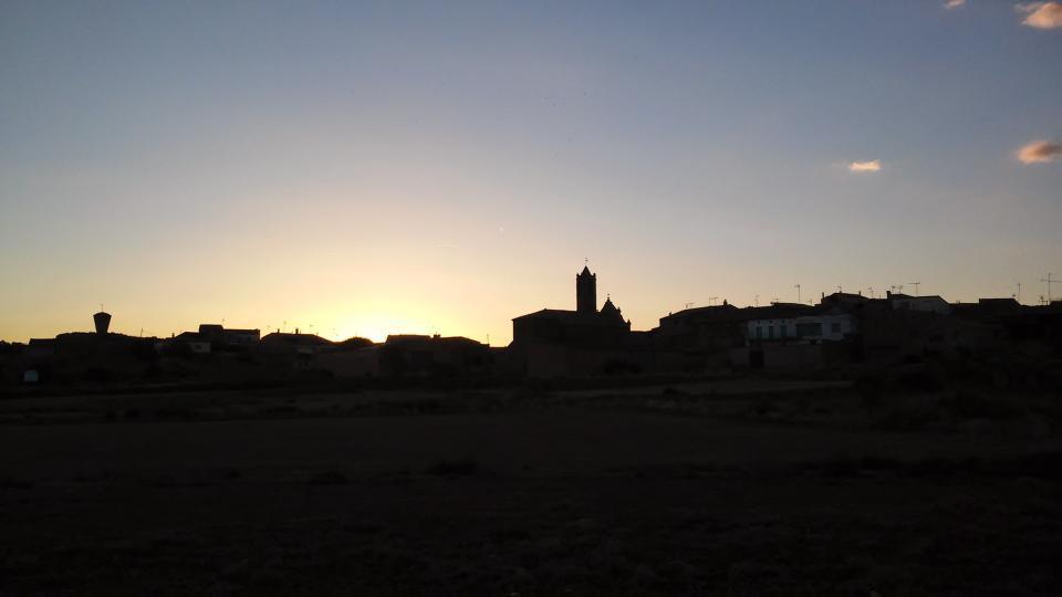 27.08.2014 posta de sol  Mont-Roig -  Ramon Sunyer