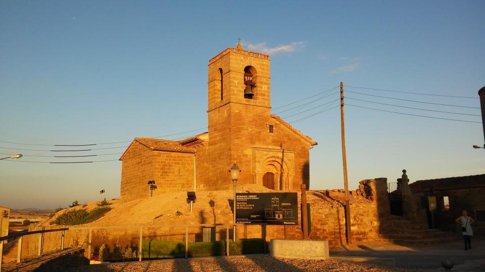 27.08.2014 Església de Sant Esteve  Pelagalls -  Ramon Sunyer