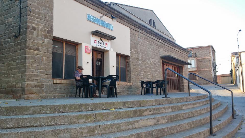 13.09.2014 lo cafè  Les Pallargues -  Ramon Sunyer