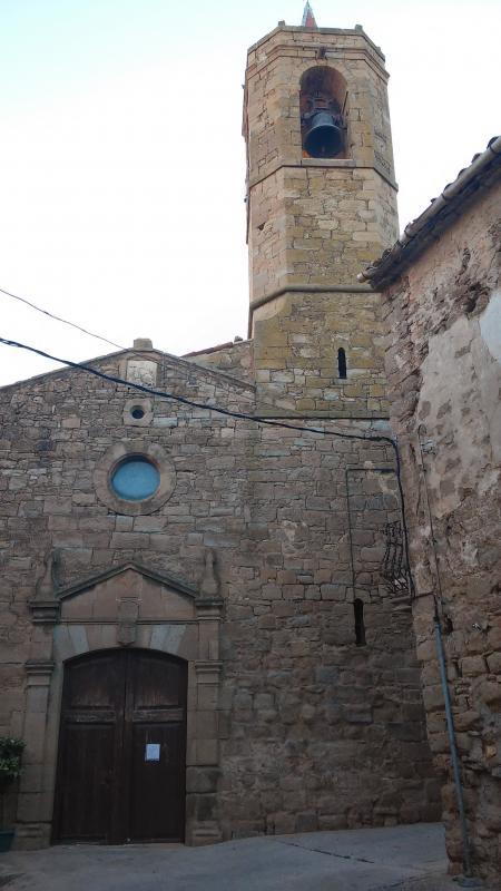 13.09.2014 Església de Sant Salvador  Les Pallargues -  Ramon Sunyer