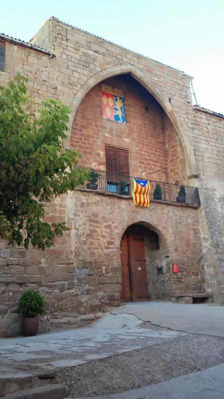 13.09.2014 castell  Les Pallargues -  Ramon Sunyer