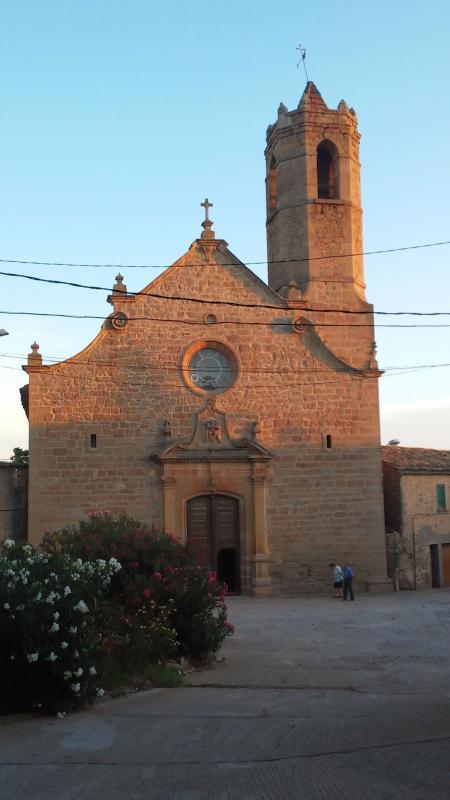13.09.2014 Església de Santa Maria  Mont-Roig -  Ramon Sunyer