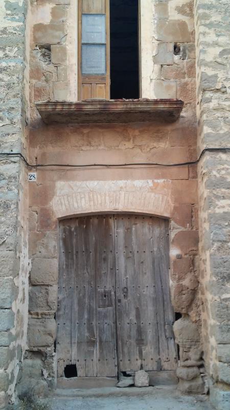 13.09.2014 detall casa  Mont-Roig -  Ramon Sunyer