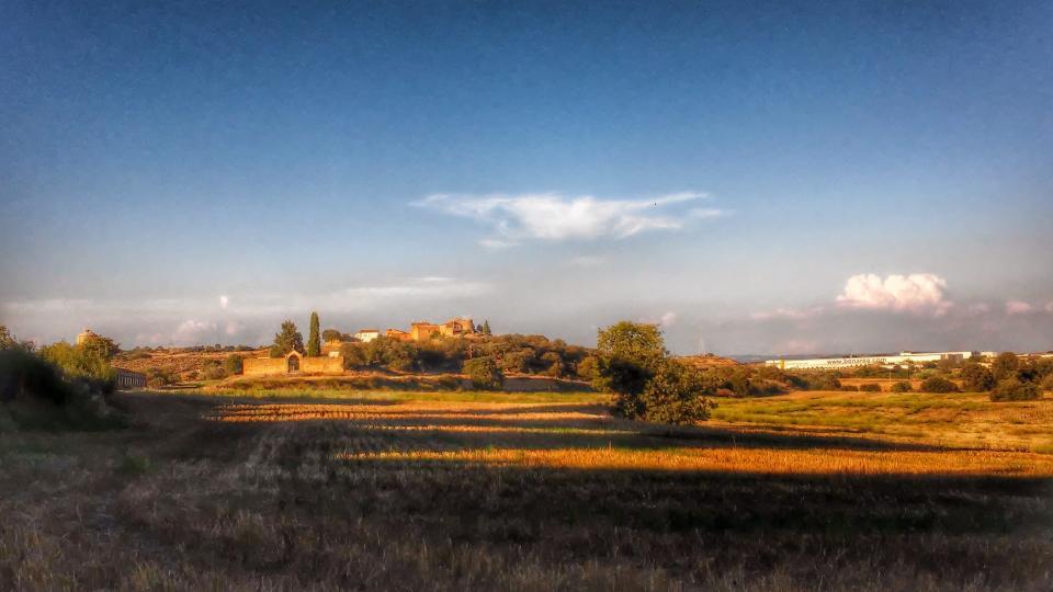 13.09.2014 paisatge  Sant Martí de la Morana -  Ramon Sunyer