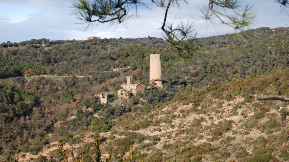 10.01.2016 vista de la torre  Vallferosa -  Ramon Sunyer