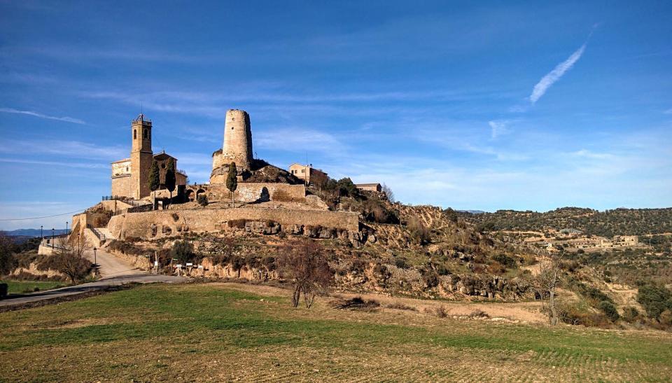 28.12.2015 Castell  Lloberola -  Ramon Sunyer