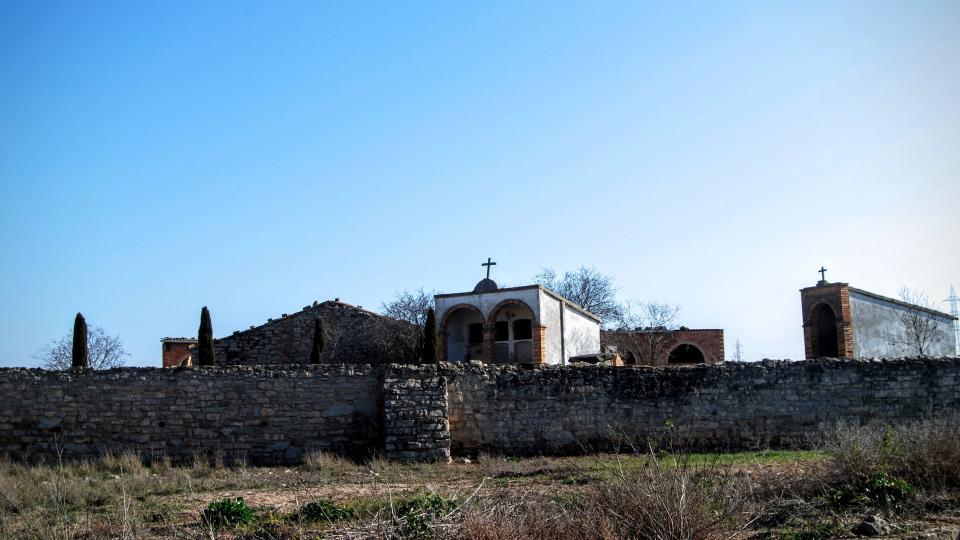 24.01.2016 cementiri  La Cardosa -  Ramon Sunyer