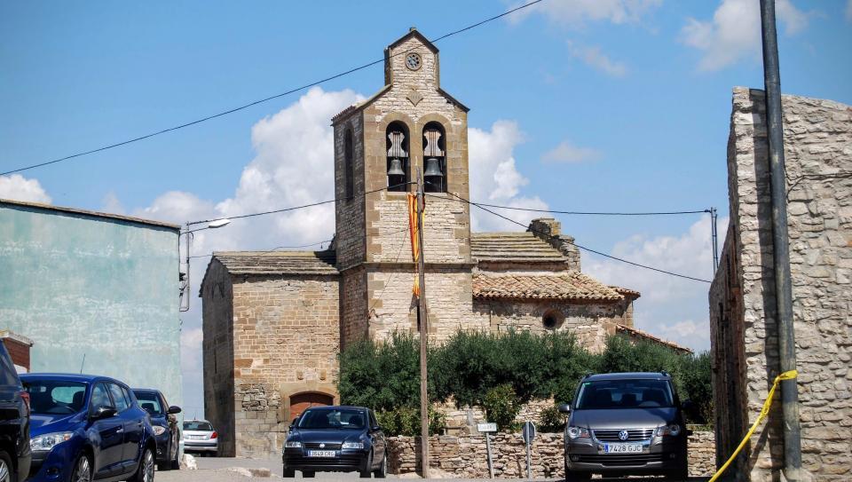 23.08.2015 Església de Sant Julià  El Llor -  Ramon Sunyer