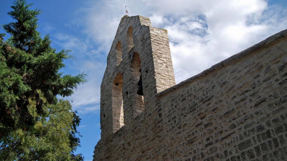 13.09.2015 campanar església de sant Jaume  Pallerols -  Ramon Sunyer