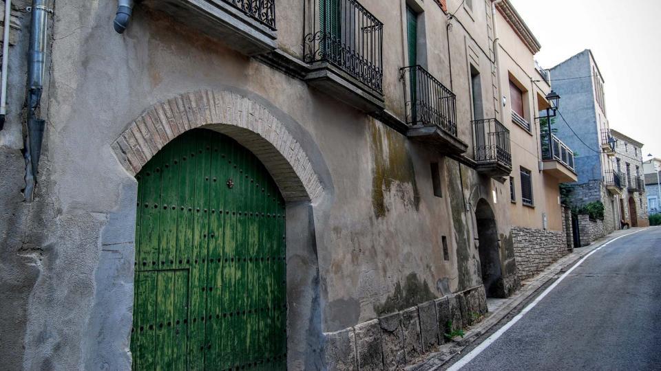 13.09.2015 detall carrer  Pallerols -  Ramon Sunyer