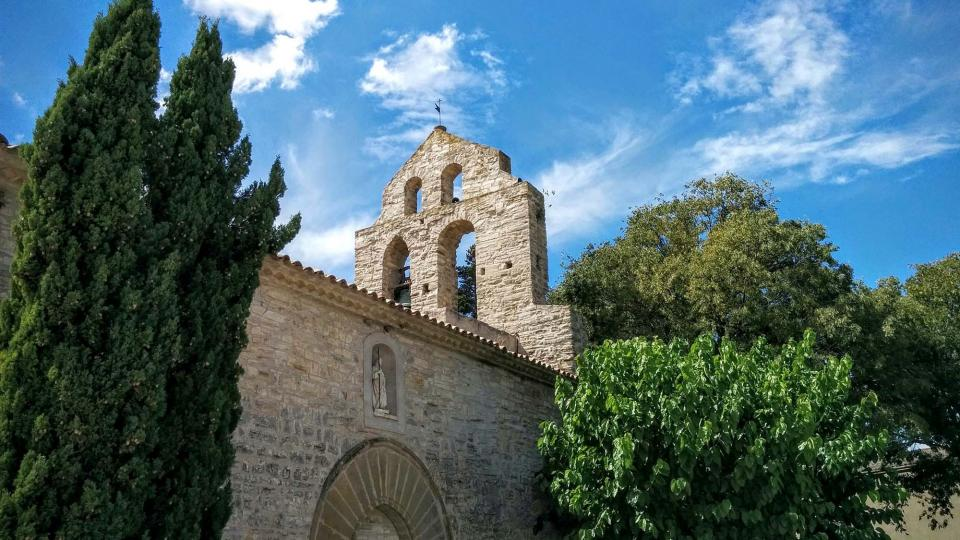 13.09.2015 Església de sant Jaume  Pallerols -  Ramon Sunyer