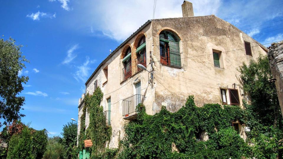 13.09.2015 detall casa  Montfar -  Ramon Sunyer