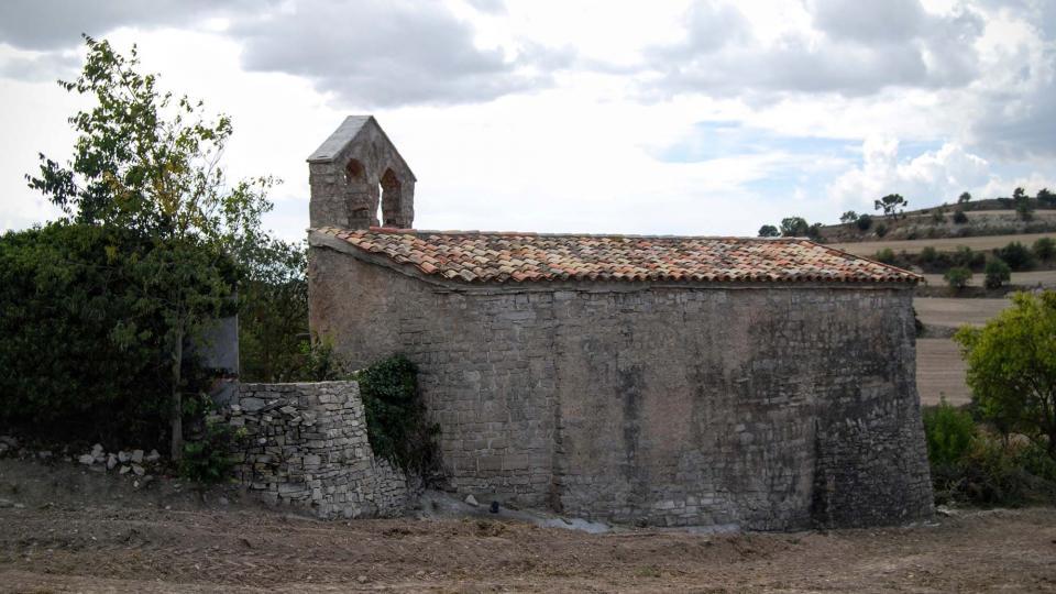 13.09.2015 Església de Santa Maria romànic  Montfar -  Ramon Sunyer